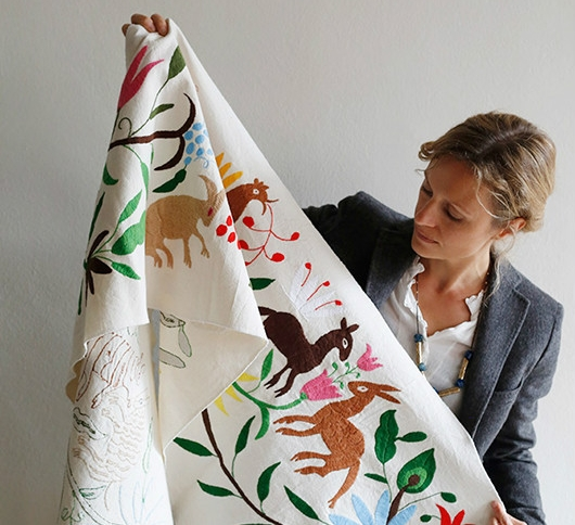 Вышивка отоми: наследие индейцев