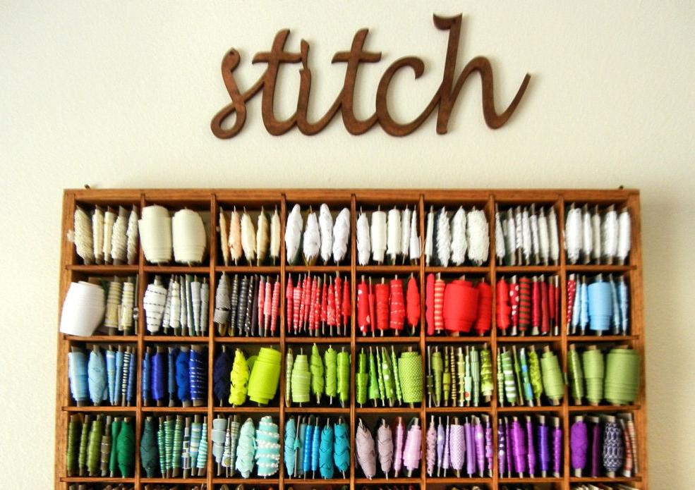 Как хранить нитки для вышивания: 10 способов