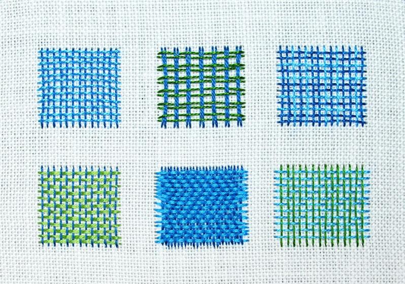 Needle weaving: Ткачество иглой
