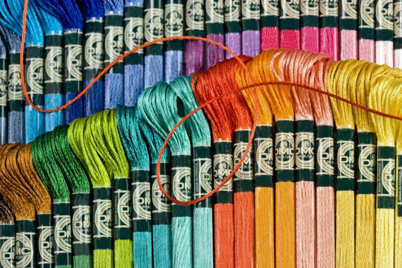 Название цветов DMC: сводная таблица