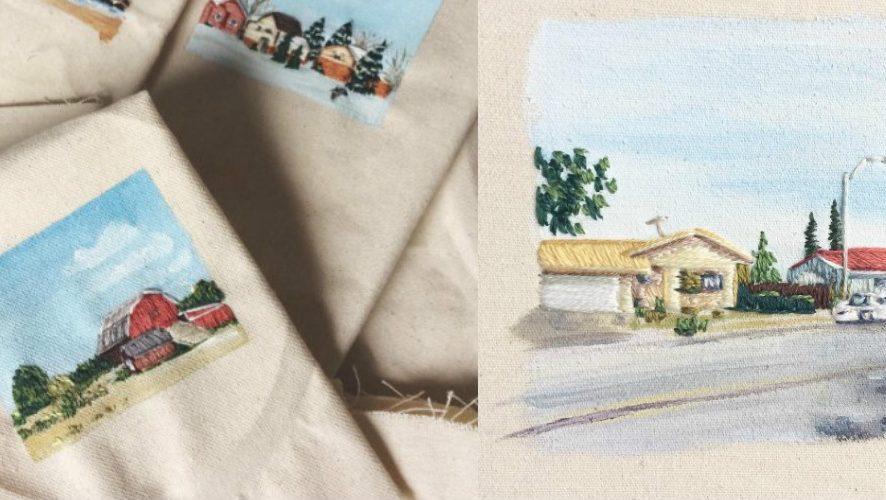 Instagram-находки: вышивка по рисункам от Jordan Harmon