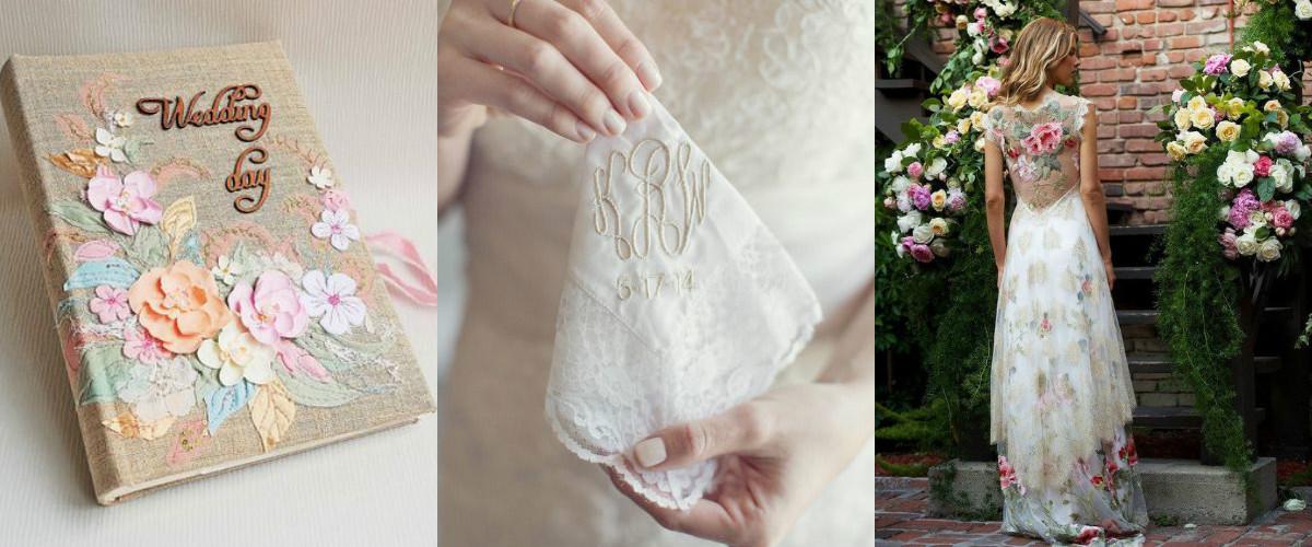 свадебная вышивка