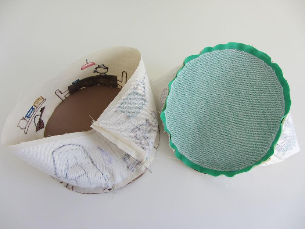 домик из ткани