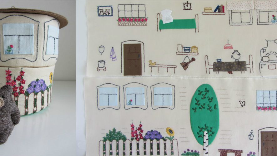 Шьем домик для мишки: мастер-класс