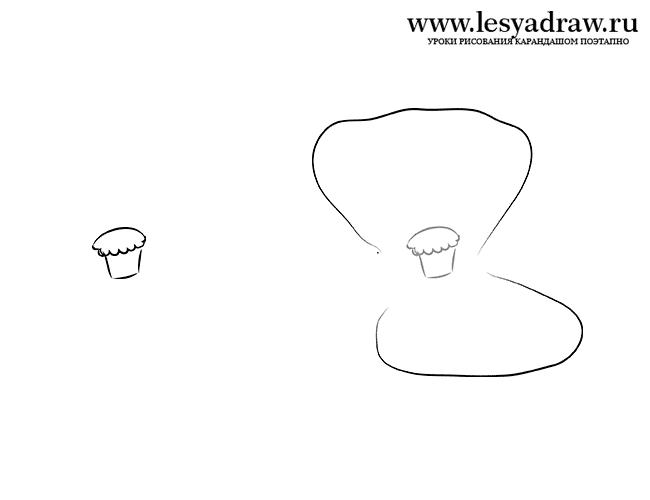 Как нарисовать мак