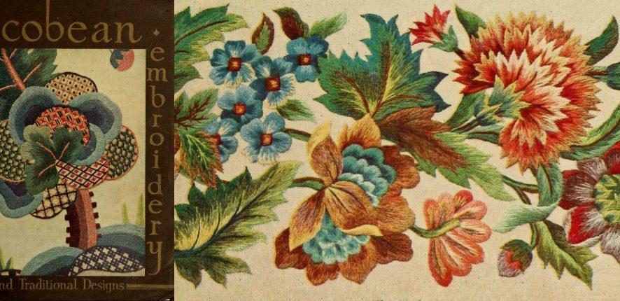 Обзор книги «Якобинская вышивка и традиционные дизайны» от Penelope. Часть 1