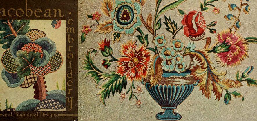 Обзор книги «Якобинская вышивка и традиционные дизайны» от Penelope. Часть 2