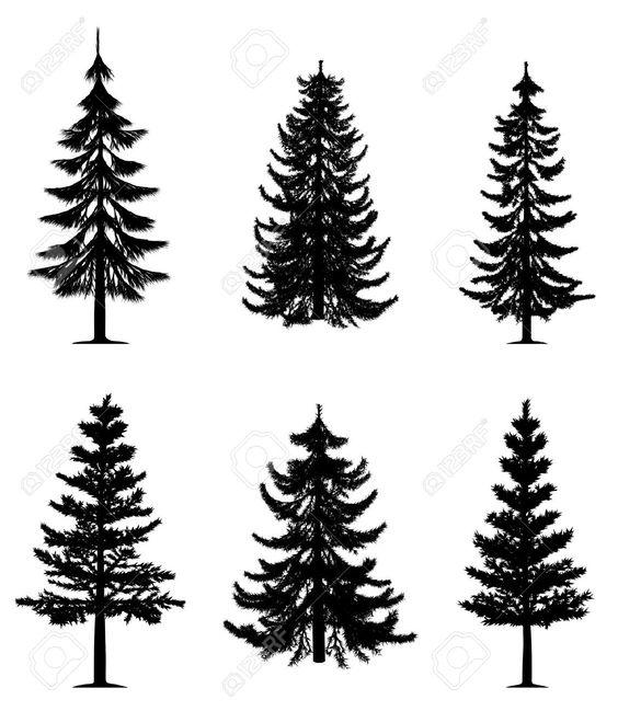 как вышить елку схема