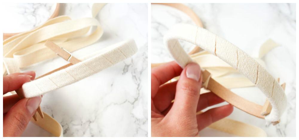 как обтянуть пяльцы тканью мастер-класс