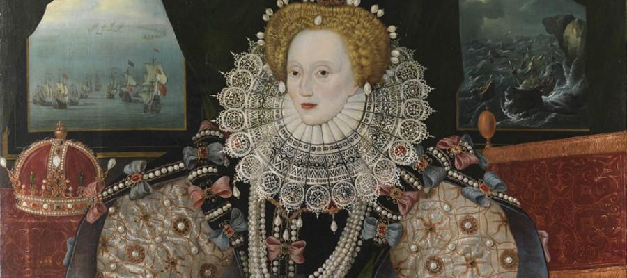 Вышивка в истории: Библия королевы Елизаветы I