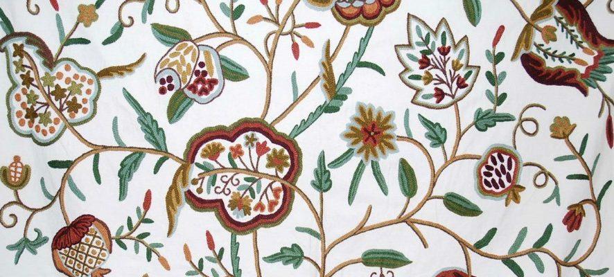 Индийские корни якобинской вышивки