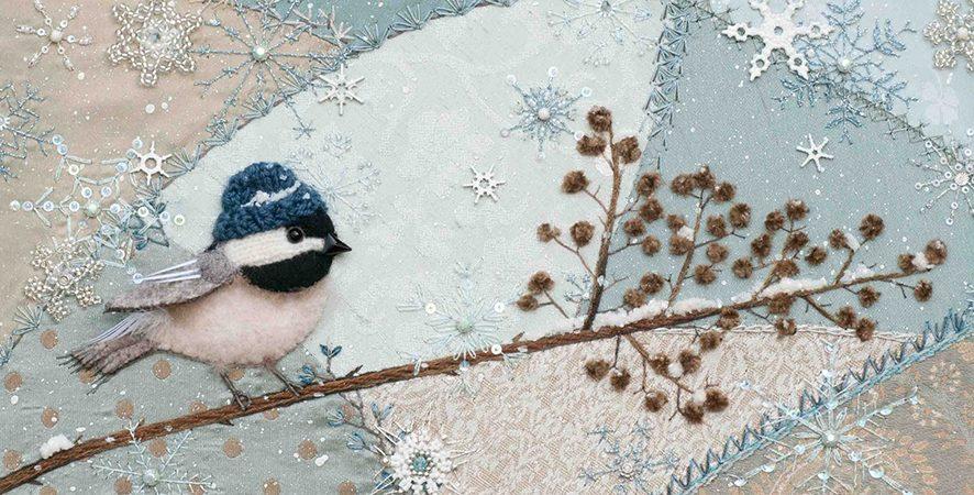 Работа в деталях: Крейзи-квилт от Сьюзан Эллиотт