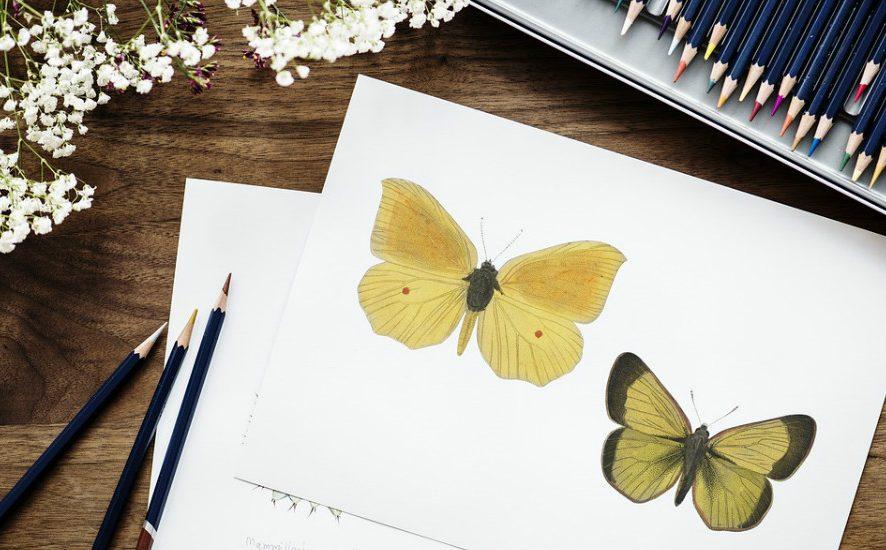 Вышивка + рисование: полезные советы (для самых отмороженных)