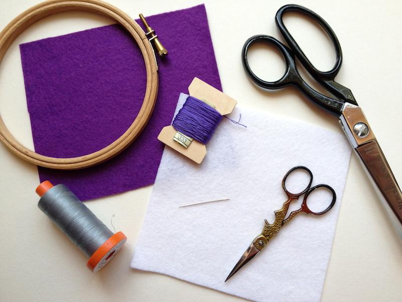 как оформить вышивку в пяльцы мастер-класс