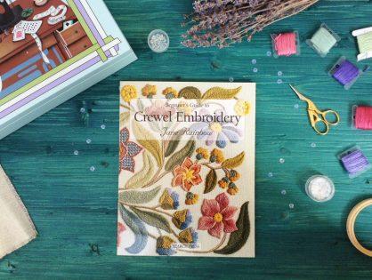 Обзор на книгу Джейн Рэйнбоу Beginner's Guide to Crewel Embroidery