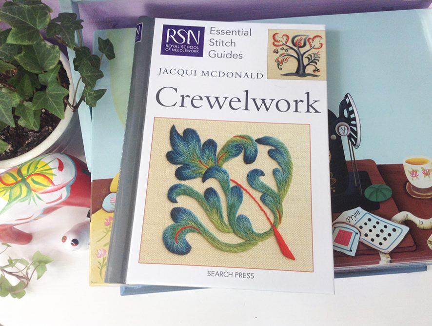 Обзор книги Crewelwork от Jacqui McDonald