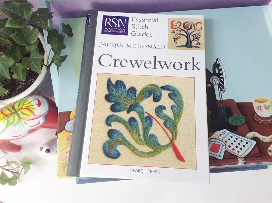 Crewelwork от Jacqui McDonald