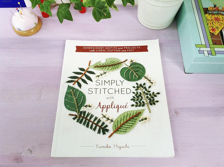 Обзор книги Simply Stitched with Applique от Юмико Хигучи