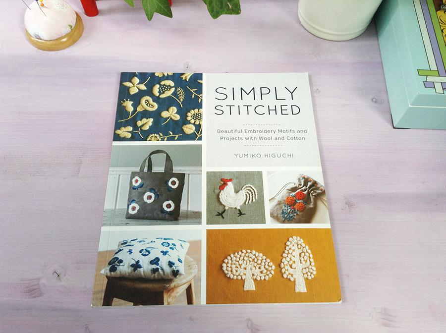 Обзор книги Simply Stitched от Юмико Хигучи