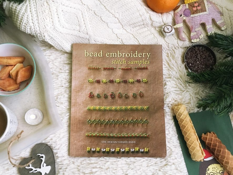 Обзор книги Bead Embroidery Stitch Samples от Yasuko Endo