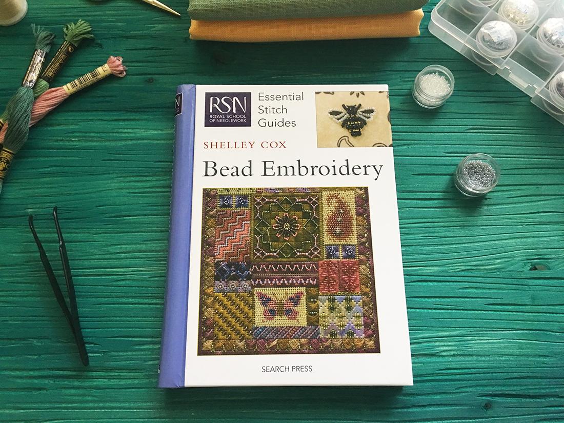 Обзор книги Шелли Кокс Bead Embroidery от Королевской школы вышивания
