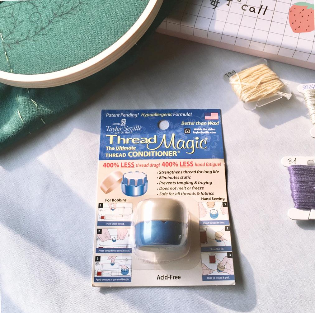 Обзор: кондиционер для ниток Thread magic